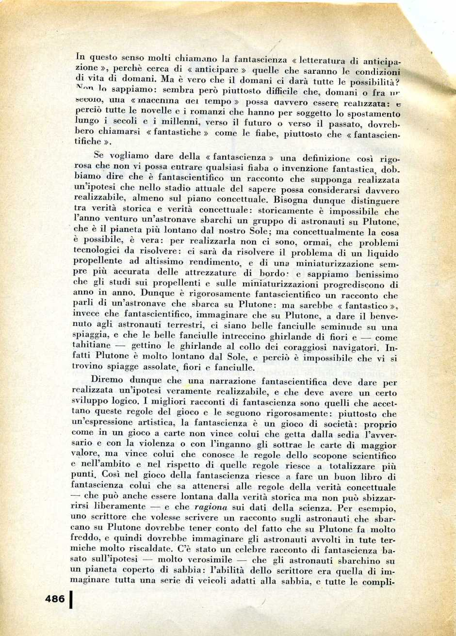 L  CONTI FANTASCIENZA1970