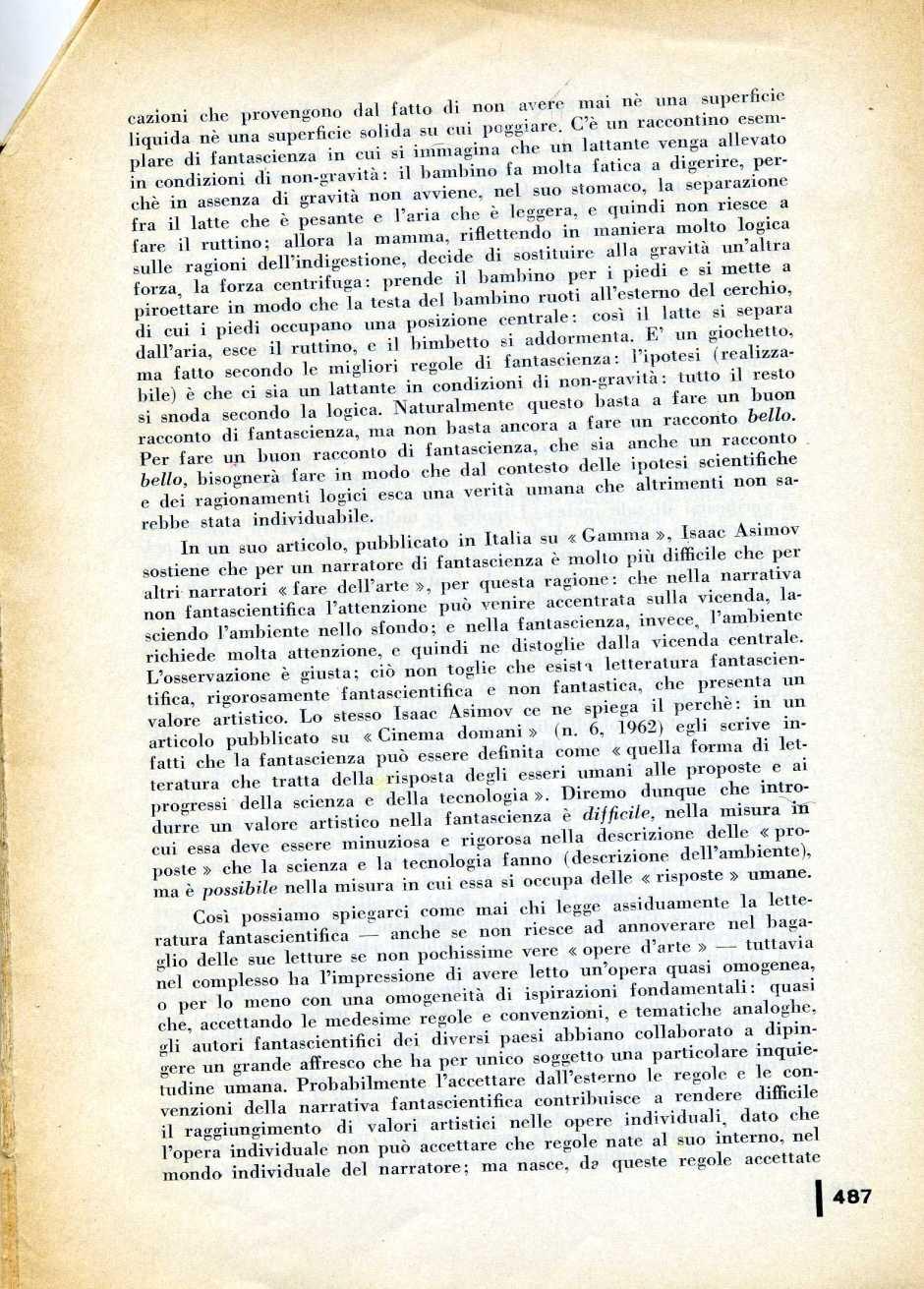 L  CONTI FANTASCIENZA1971