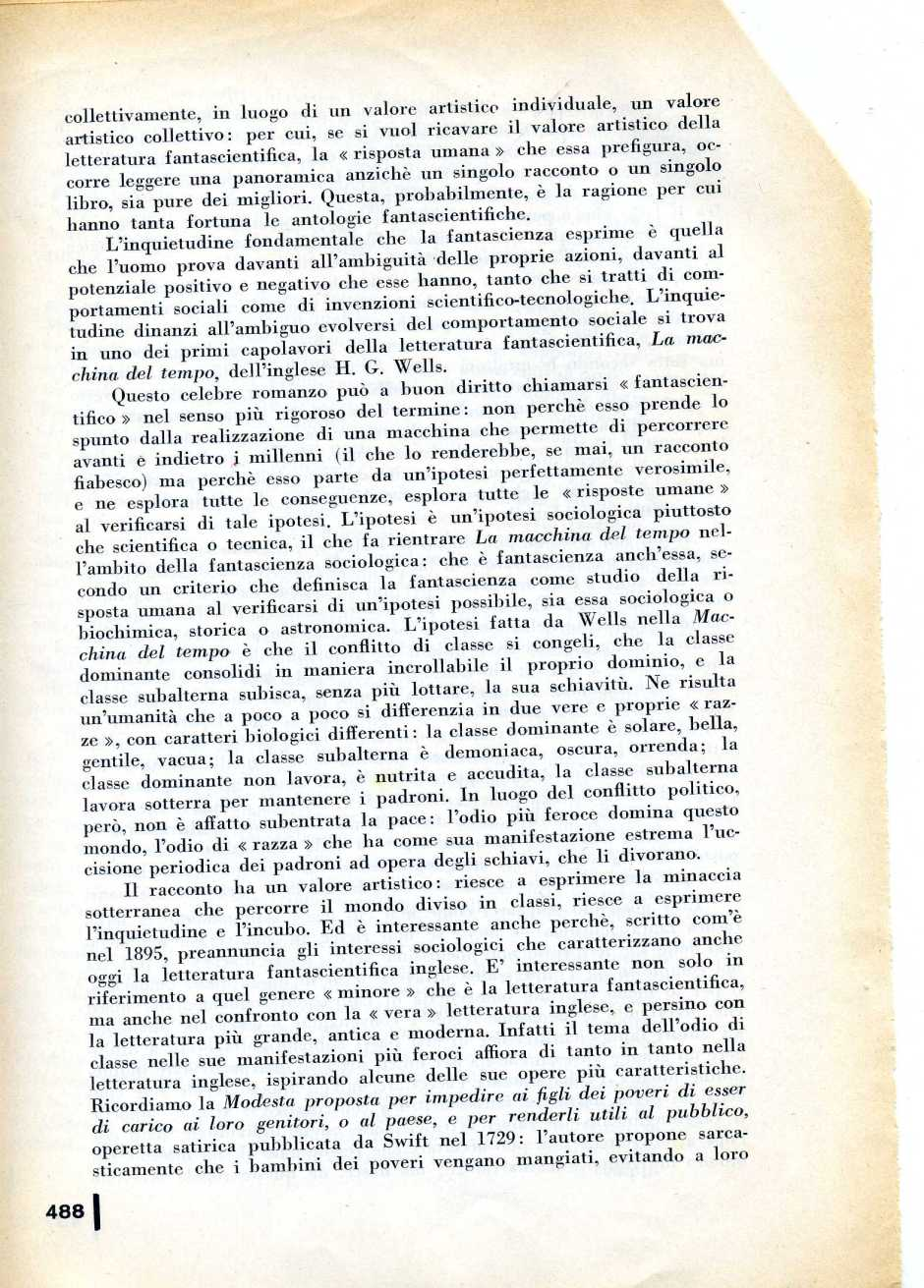 L  CONTI FANTASCIENZA1972