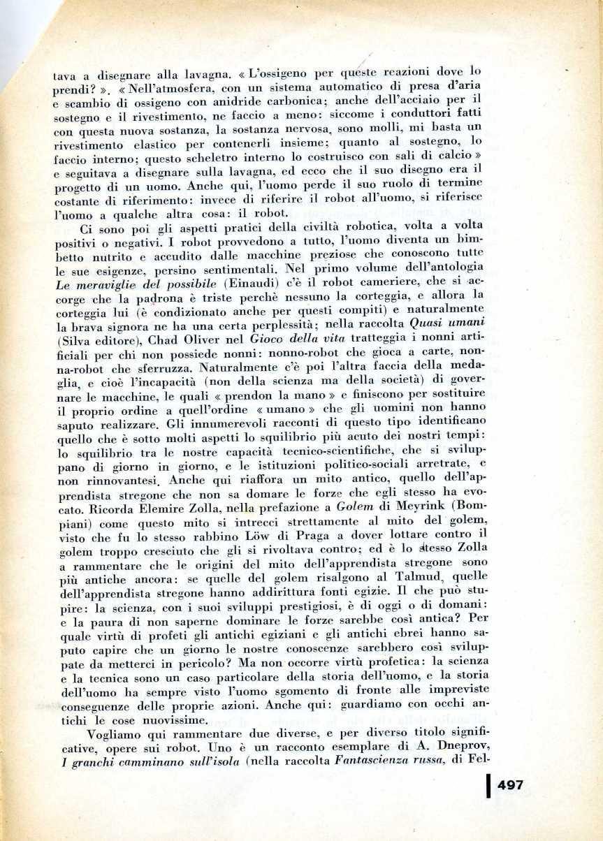 L  CONTI FANTASCIENZA1981