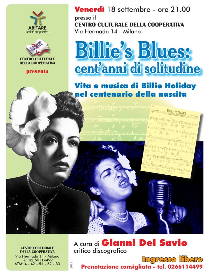 Billie Holiday 18-9-2015