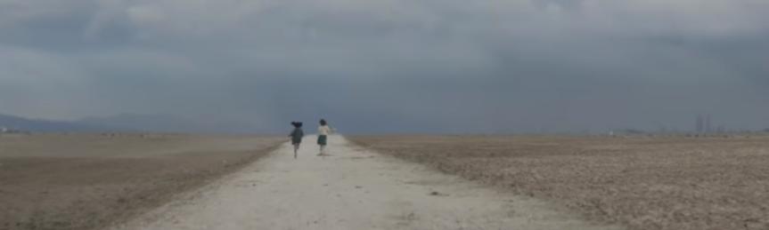 L'AMICA GENIALE, serie televisiva  diretta da Saverio Costanzo, dai romanzi  di Elena Ferrante. Una FOTOGRAFIA simbolica, dicembre2018