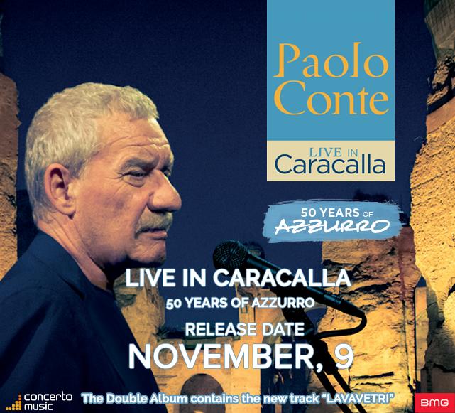 PAOLO CONTE, DIAVOLO ROSSO, Live in Caracalla,2018