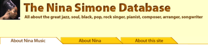 MAURO BOSCAROL: la più completa biografia musicale di NinaSimone