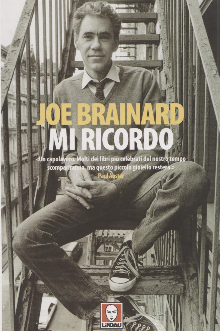 MI RICORDO di Joe Brainard, Lindau,2014