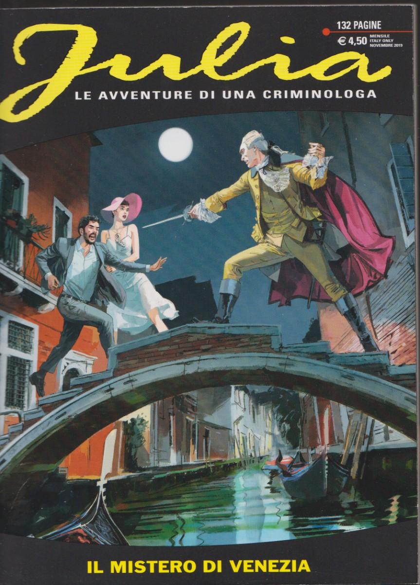 VENEZIA, disegnata da Federico Antinori, in JULIA, di Giancarlo Berardi e Maurizio Mantero, n. 254, Novembre2019