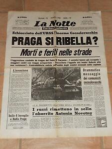 mi ricordo LA NOTTE, il quotidiano che leggeva mio padre, 8 novembre2019