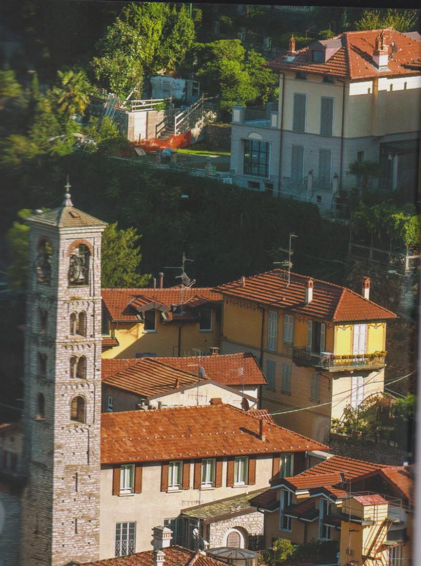 la casa ed il giardino in cui sono vissuto durante la  mia infanzia (1948-1953): TORNO sopra la chiesa di sanGiovanni