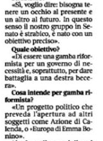 """Riccardo Nencini, in Corriere della Sera 17 febbraio 2020:""""un progetto politico che preveda l'apertura ad altri soggetti politici come Azione di Calenda o Europa di EmmaBonino"""""""