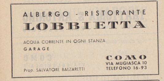 mi ricordo la pergola dell'Albergo/Ristorante LOBBIETTA, in via Mugiasca. Erano i primissimi anni'60